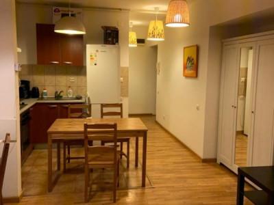 Garsoniera, Muncii, Metrou, Delea Veche, bloc nou, mobilata si utilata complet.