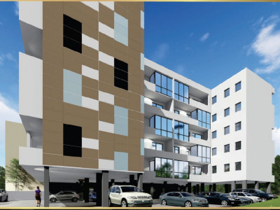 Apartament luminos cu 3 camere finisat in bloc nou la intrare in Mamaia