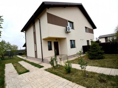 Vila tip duplex 5 camere P+1+M,teren 332 mp Tamasi-Corbeanca
