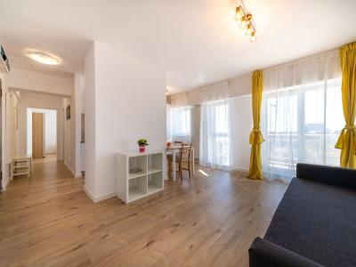 2 camere cu parcare subterana - prima inchiriere - Belvedere Residences