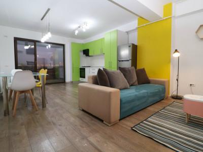 Apartamentul Visio – colorat și funcțional –