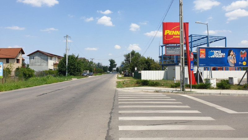 Pozitie excelenta teren intravilan Clinceni - Putul Olteni - Penny Market