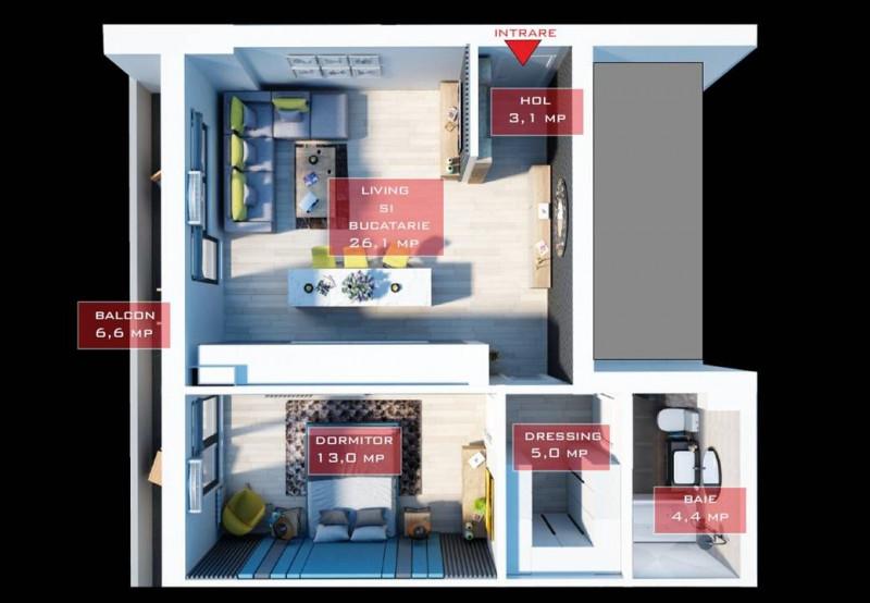 DIRECT DEZVOLTATOR! Apartament 2 camere, Militari, sector 6