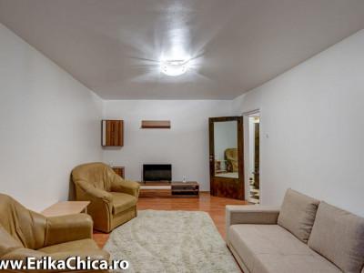 Apartament 3 camere , decomandat , complet mobilat si utilat