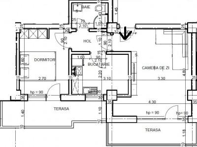 Apartament 2 camere zona Kazeboo la 80 metri de plaja